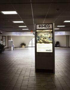 Main terminal ad space