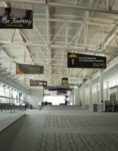Ad space concourse