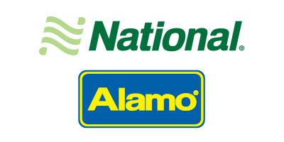 National & Alamo Logos