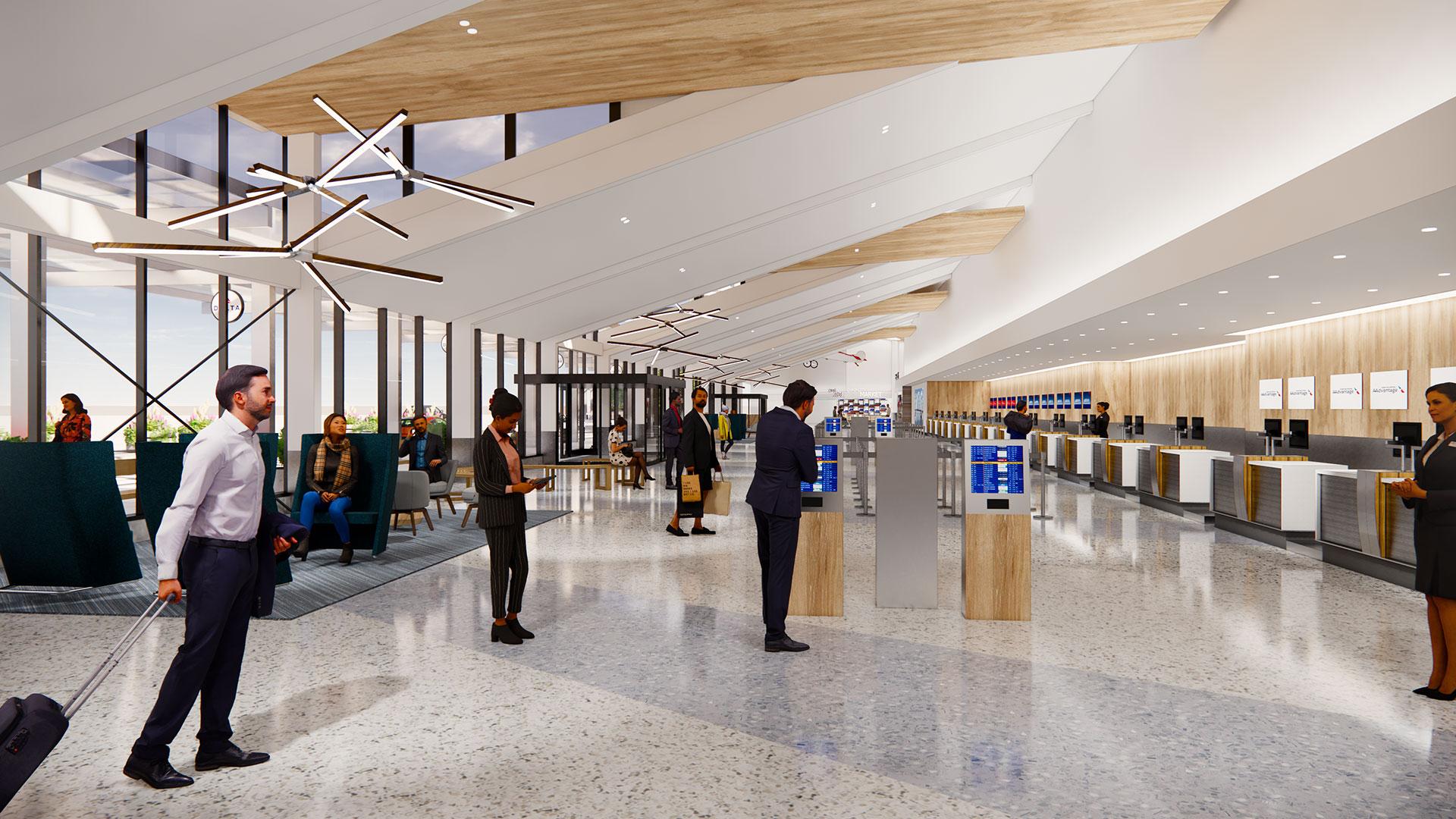 Quad City Airport Terminal Rendering